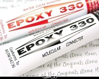 Epoxy 330 Jewelry Adhesive Works Great for Attaching Bails and Making My Choker Necklaces. HEPOXY330