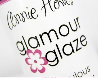 Glamour Glaze. The Best Glaze for Scrabble Pendants and Glass Pendants. Use with my Glamour FX Glass. BESTSELLER  Annie Howes.