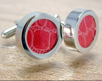 Customizable CUFF LINKS. What to Give your Guy. Create Your Own custom Cuff Links.