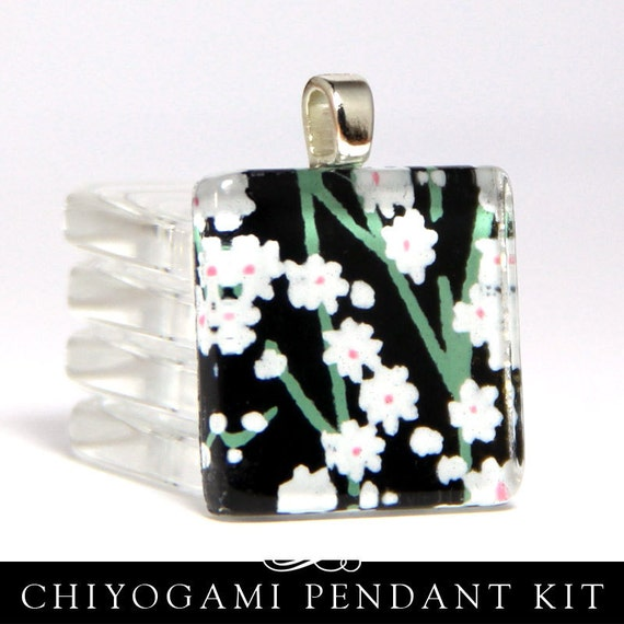 Basket Weaving Supplies Phoenix Az : Make square glass pendants with gorgeous chiyogami