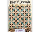 No. 008 -- Rings of Diamonds Quilt Pattern