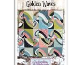 No. 011 -- Golden Waves Quilt Pattern