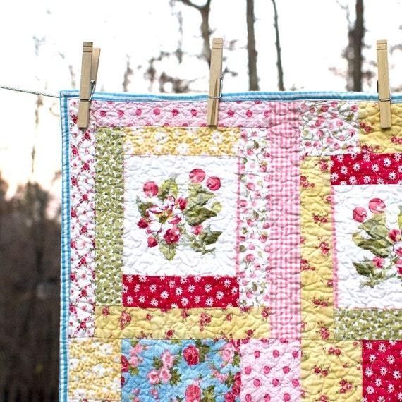 ON SALE -- Maeve's Flower Box Quilt