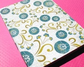 Blue Dahlia - Softcover Notebook Journal