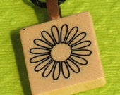 Daisy - Scrabble Tile Pendant Necklace