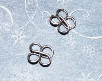 Sterling Silver Knot Jewelry Finding Link Component CN-Z1562