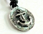 Men's Ancient Mariner's Cross in Fine Silver