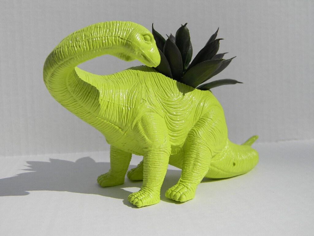 Dinosaur Planter Great Dorm Office Home Decor Gift For Get