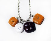 Smores Stacker Sandwich Necklace