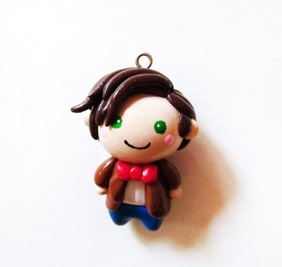 Doctor Who 11th Doctor Chibi Charm Necklace