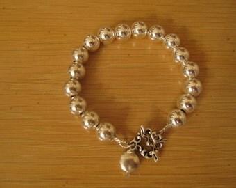 Sterling Silver Tiffany Like Bracelet