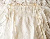 Antique Vintage Childs Baby Christening Summer Dress Slip