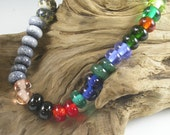 LBL Lampwork Glass Beads - 28 Orphan Beads