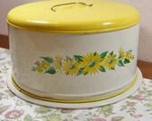 Yellow Daisy Cake Can