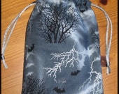 All Hallows Eve Padded Tarot Bag