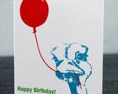 Happy Birthday Ostrich