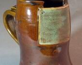 Mechanical Mug - green and brown
