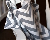 Beautiful Chevron Print Nursing Cover YOU PICK the color