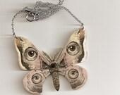Moth Monster Man Necklace