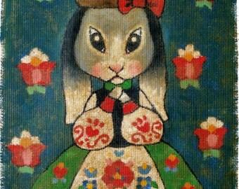Rabbit Folk Tales - print