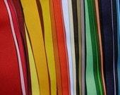 7/8 SOLID grosgrain ribbon wholesale LOT 32 yds