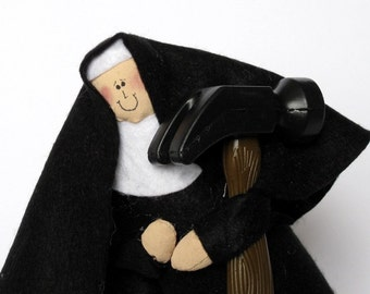 Sister Renovata, the D.I.Y. nun