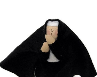 Catholic gift Nun Doll-Sister Donatello-the Sister who keeps secrets