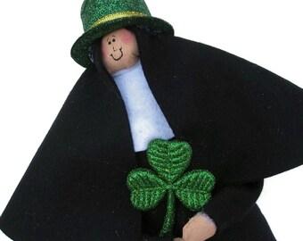 Nun doll Catholic gift--Sister Patty O'Lantern, the Irish sister