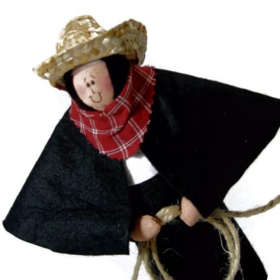 "SALE! Catholic Gift Nun Doll-Catholic humor ""Bonunza""--The Sister who loves the west"