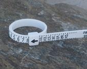 Plastic ring sizer.........Free postage worldwide.
