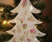 Vintage China Christmas Tree
