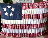 Gingham and Glory Pillow Cover