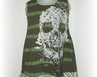 Upcycled Repurposed Fun Dress In Size 3