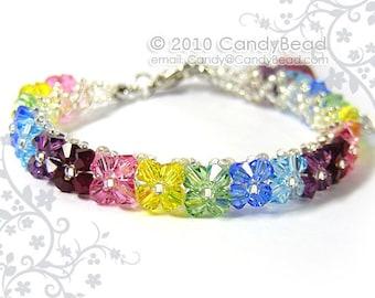 Sparkling Sunshine Swarovski Crystal Bracelet by CandyBead