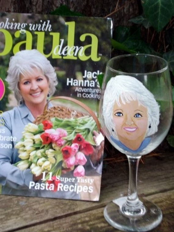 Paula Deen is not for sale - I will personalize a glass with the picture you e-mail to me