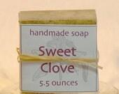 Sweet Clove Handmade Soap