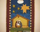 Hallelujah Nativity Pattern