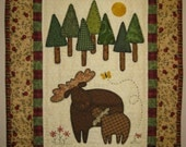 Northwoods Moose Pattern