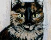 Cat ACEO - October