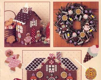 Sugarplum Christmas ~  plastic canvas leaflet