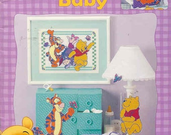 Winnie the Pooh ~  For Baby  ~   plastic canvas book