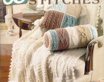 Crochet 63 Cable Stitches ~   New Book