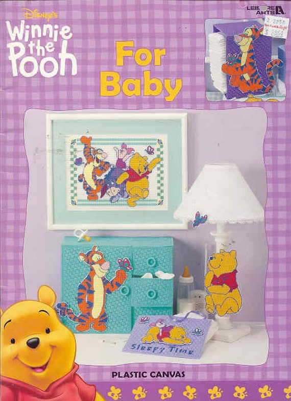 Winnie The Pooh For Baby Plastic Canvas Book