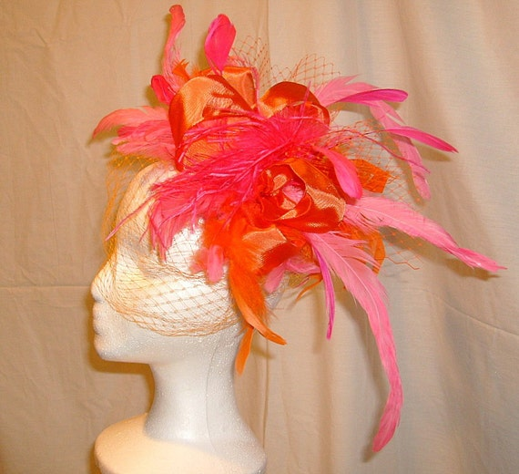 Kentucky Derby Hat, Fascinator, Award Winning Design, RESERVED for Allie Chandler