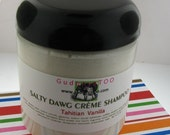 Gudonya Salty DAWG Cream Shampoo (tm) - Tahitian Vanilla Scent --- vegan --- New 8oz Jar