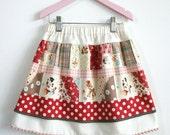 Little Princess Pettiskirt PDF Sewing Tutorial for Girls Sizes 1-2, 3-4, 5-6 & 7-8