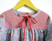 Simply Sweet Tunic Top & Blouse INSTANT DOWNLOAD PDF Sewing Pattern for Toddlers and Girls: Sizes 1, 2, 3, 4, 5, 6, 7 and 8