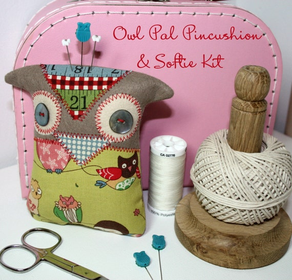 OWL PAL Softie Kit and Pattern
