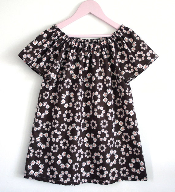 Peasant Dress & Top Butterfly Breeze INSTANT DOWNLOAD PDF Sewing Pattern for Toddlers and Girls: Sizes 1-8 by Peach Patterns