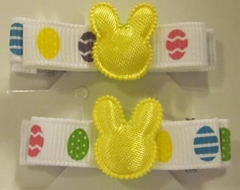 Girls - Easter aliigator clip set